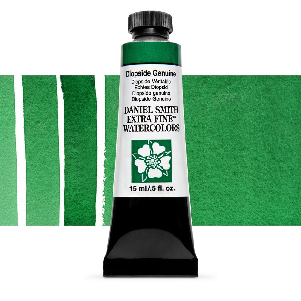 Daniel Smith : Watercolour Paint : 15ml : Diopside Genuine : b Series 3