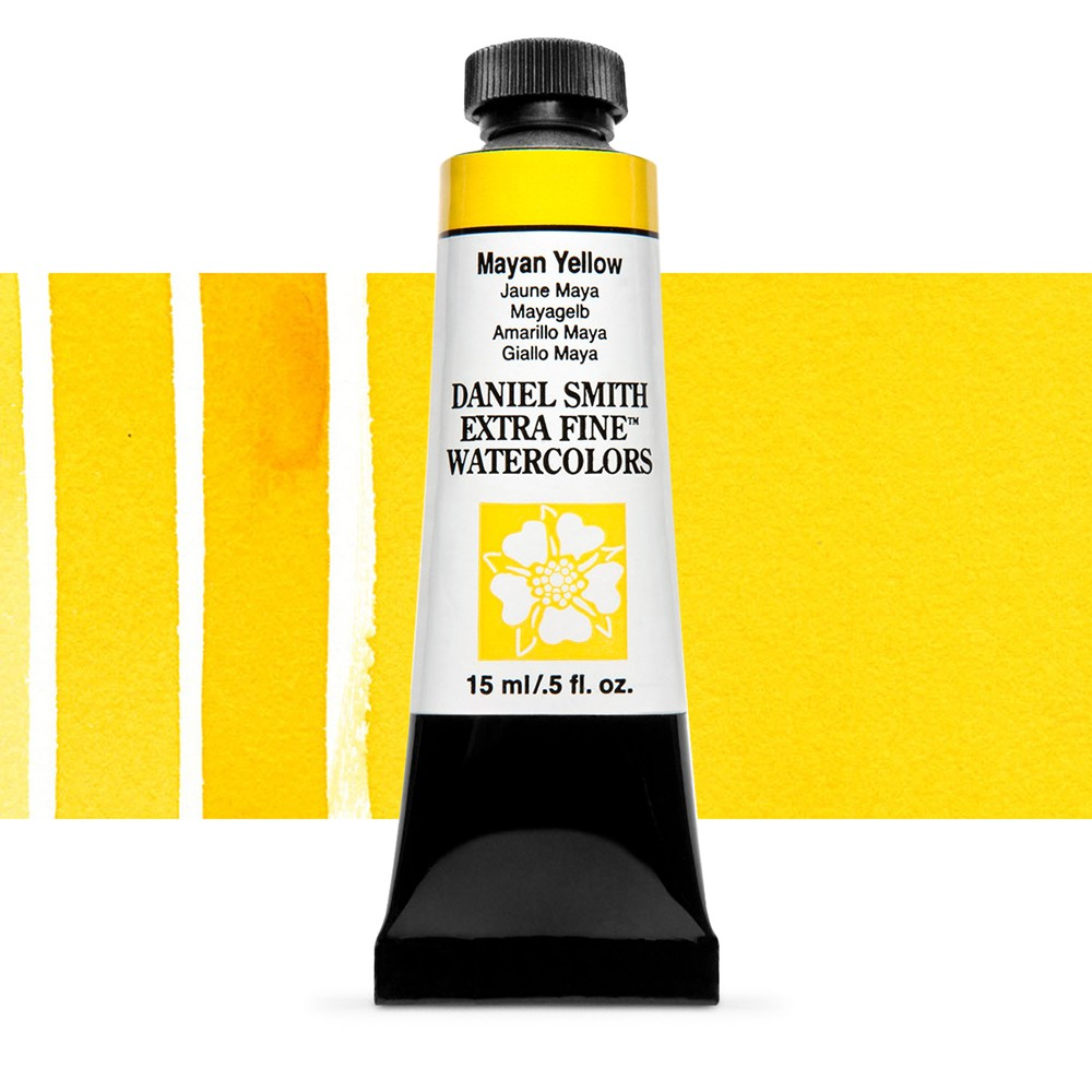 Daniel Smith : Watercolour Paint : 15ml : Mayan Yellow : Series 3