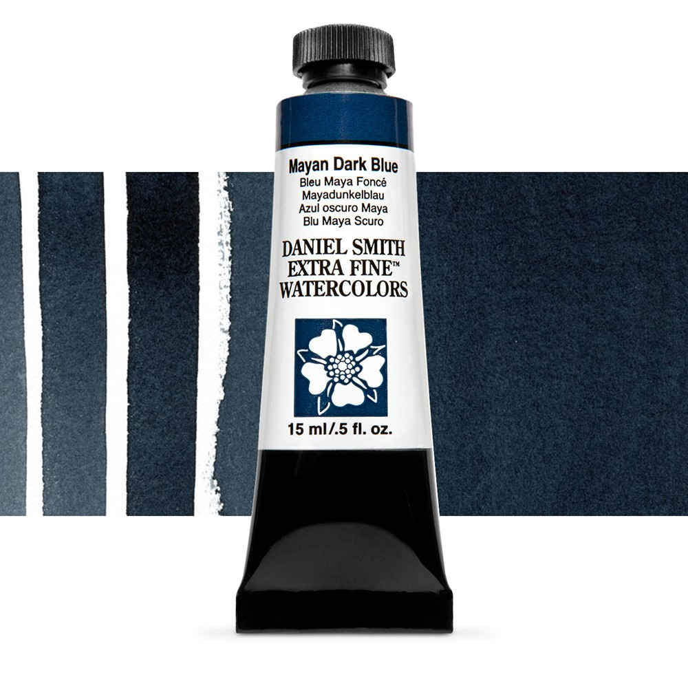Daniel Smith : Watercolour Paint : 15ml : Mayan Dark Blue : Series 3