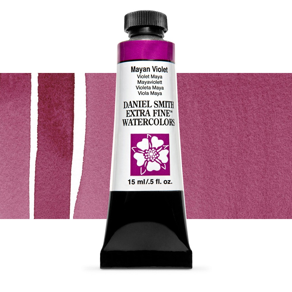 Daniel Smith : Watercolour Paint : 15ml : Mayan Violet : Series 3
