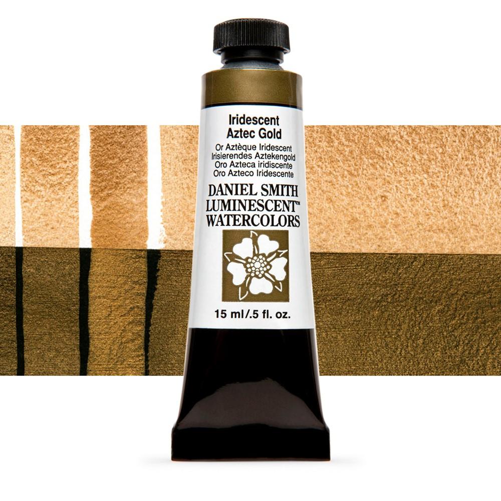 Daniel Smith : Watercolour Paint : 15ml : Iridescent Aztec Gold : u Series 1