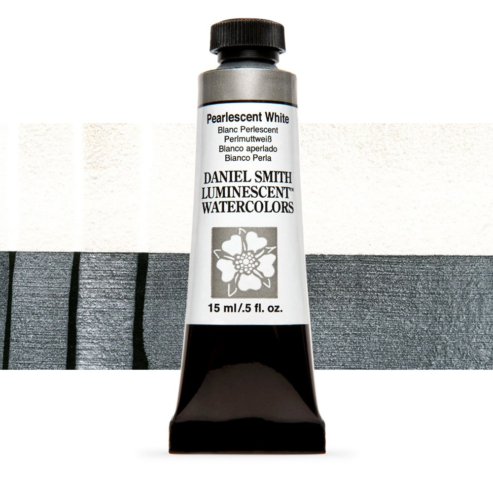 Daniel Smith : Watercolour Paint : 15ml : Pearlescent White : u Series 1