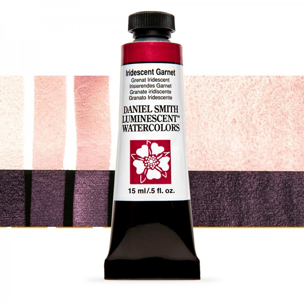 Daniel Smith : Watercolour Paint : 15ml : Iridescent Garnet : u Series 1