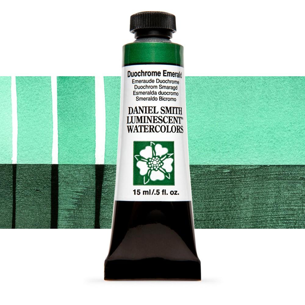 Daniel Smith : Watercolour Paint : 15ml : Duochrome Emerald : u Series 1