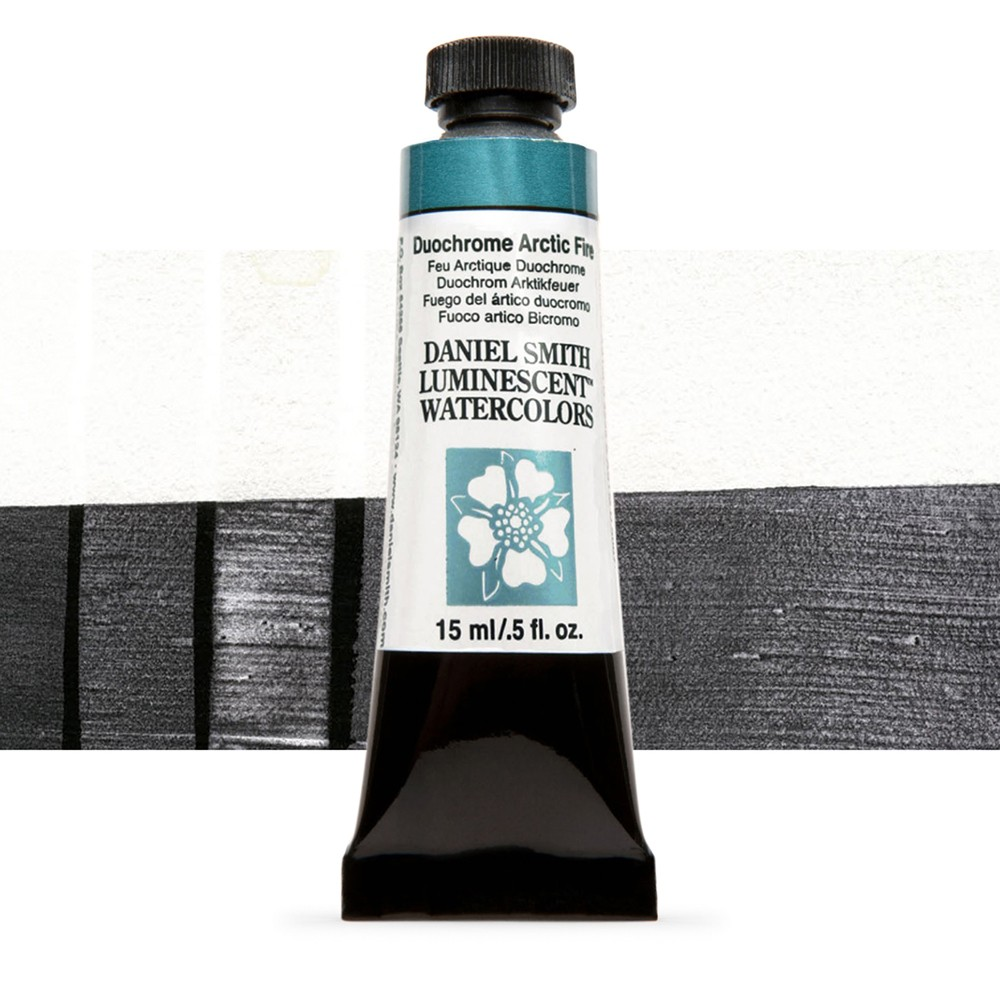 Daniel Smith : Watercolour Paint : 15ml : Duochrome Arctic Fire : u Series 1