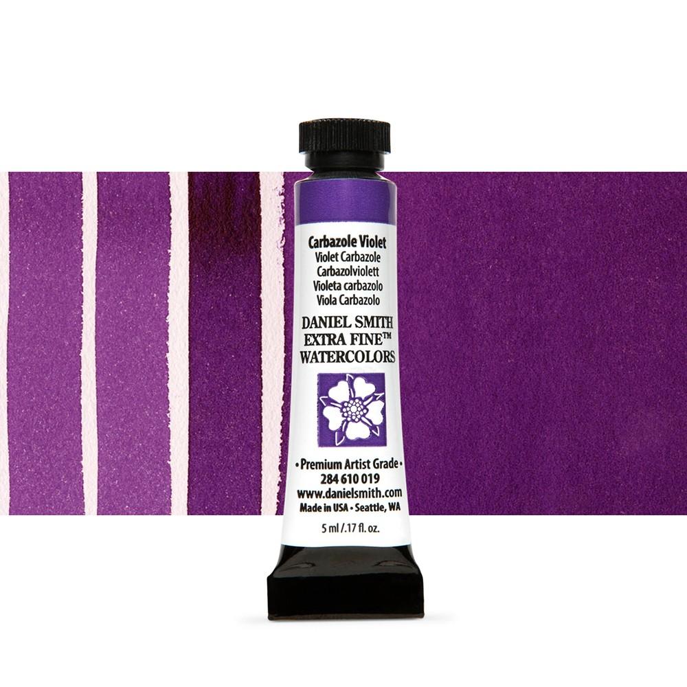 Daniel Smith : Watercolour Paint : 5ml : Carbazole Violet