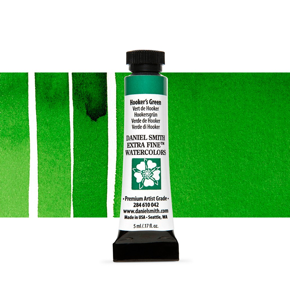 Daniel Smith : Watercolour Paint : 5ml : Hooker's Green