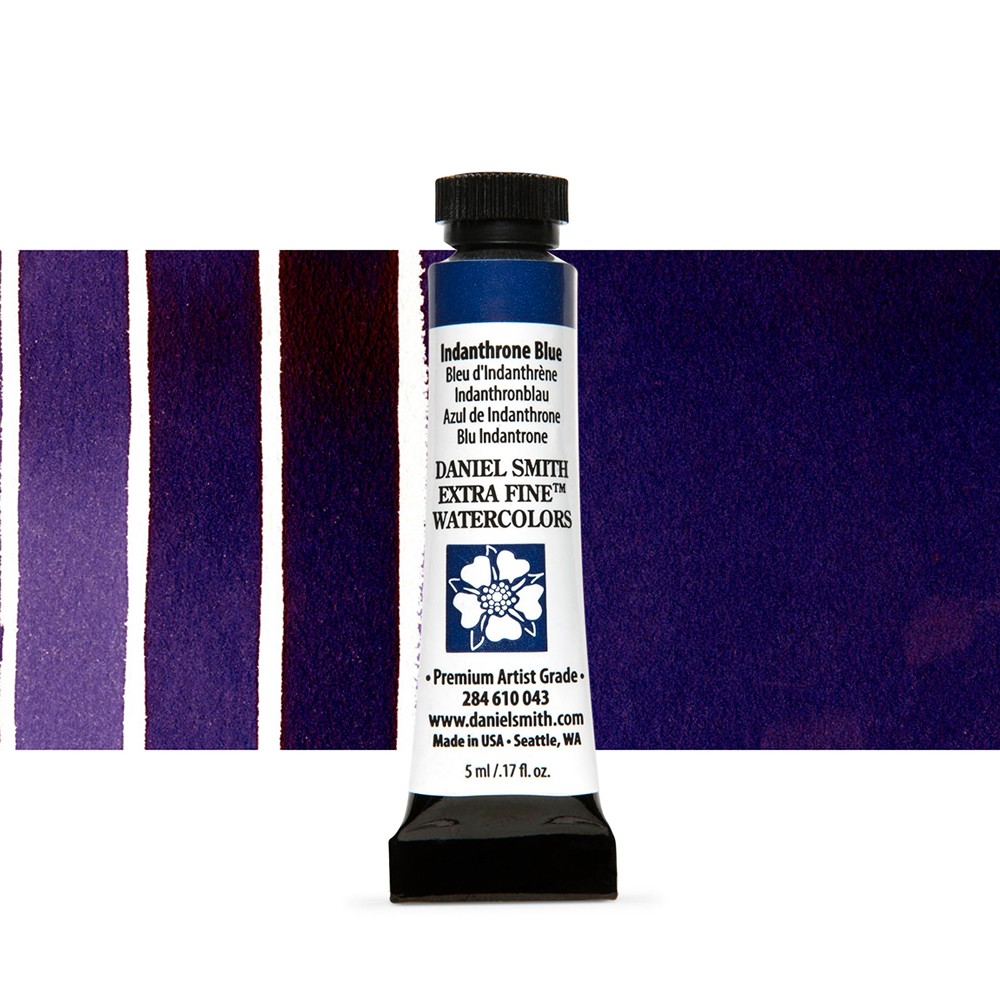 Daniel Smith : Watercolour Paint : 5ml : Indanthrone Blue