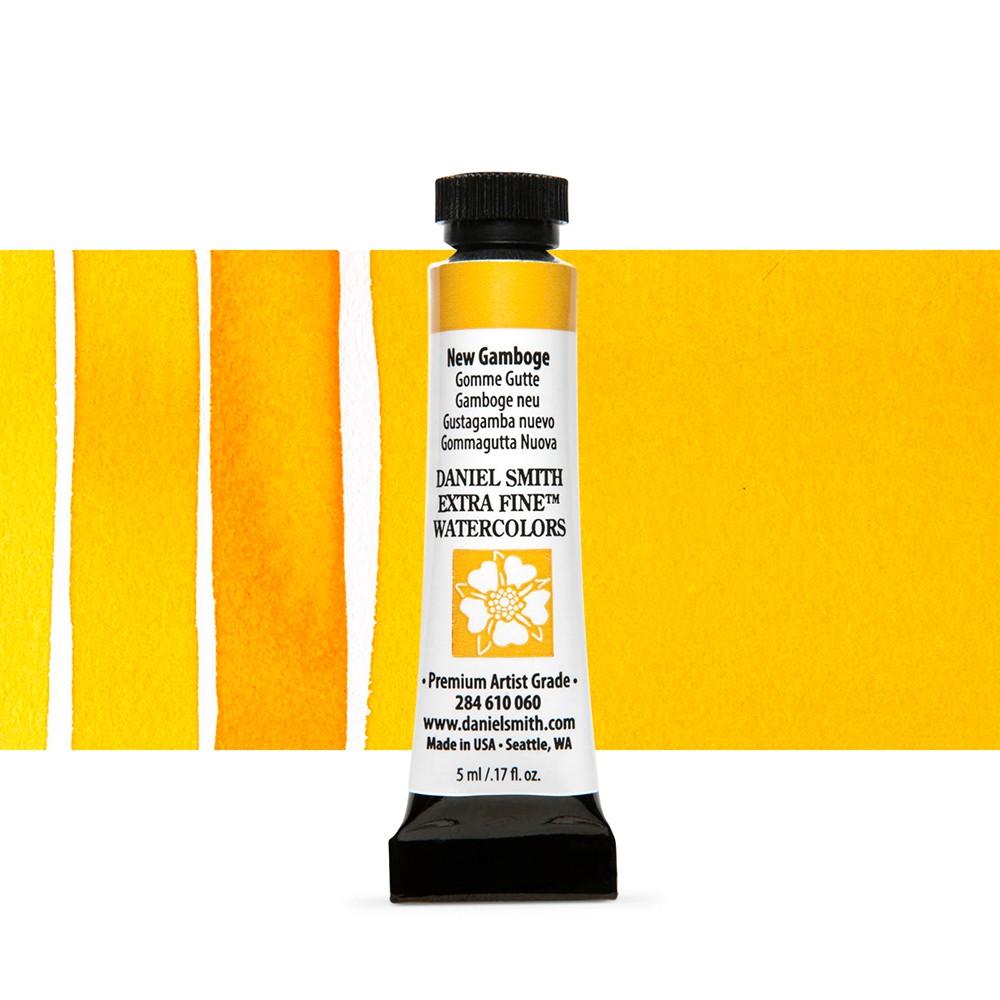 Daniel Smith : Watercolour Paint : 5ml : New Gamboge