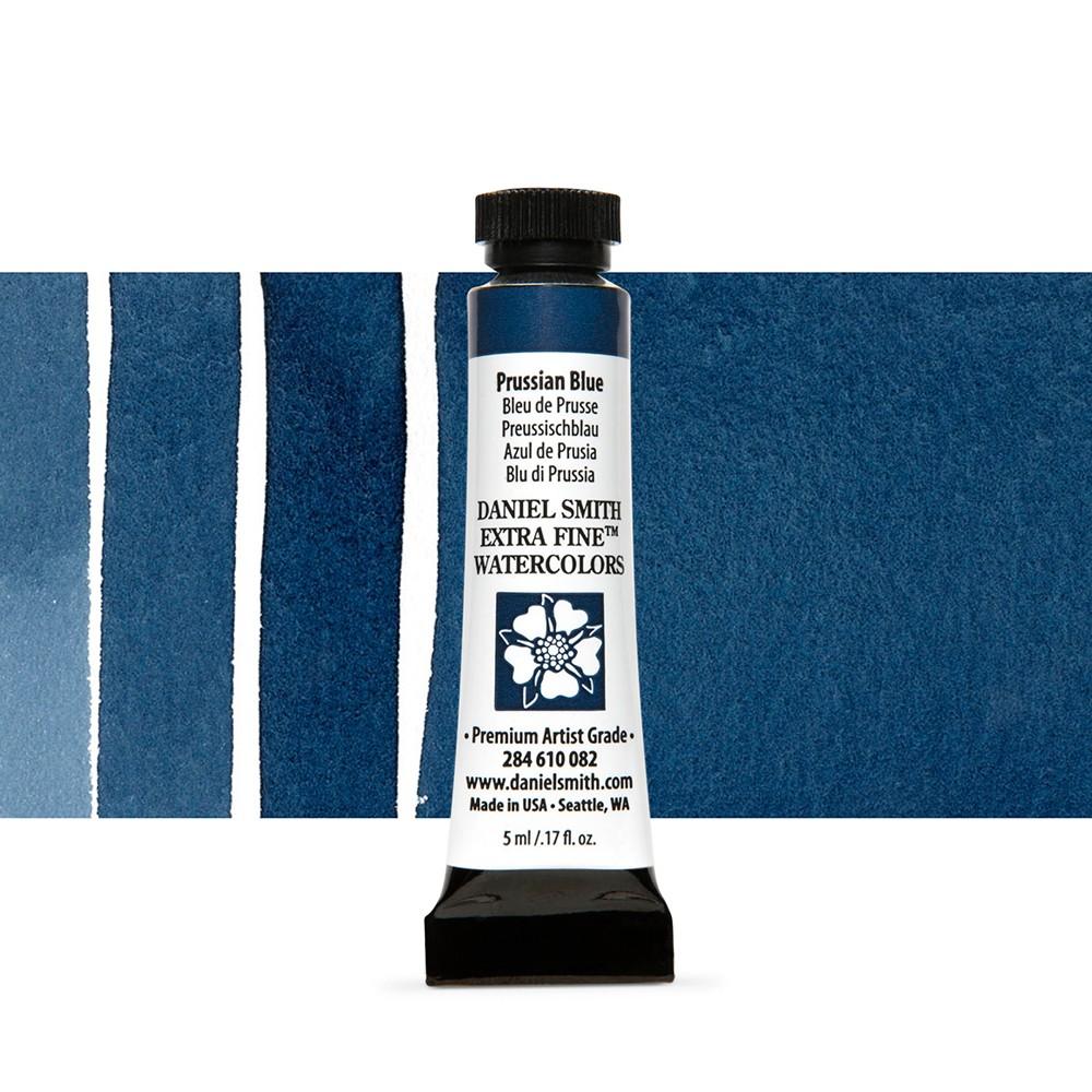 Daniel Smith : Watercolour Paint : 5ml : Prussian Blue