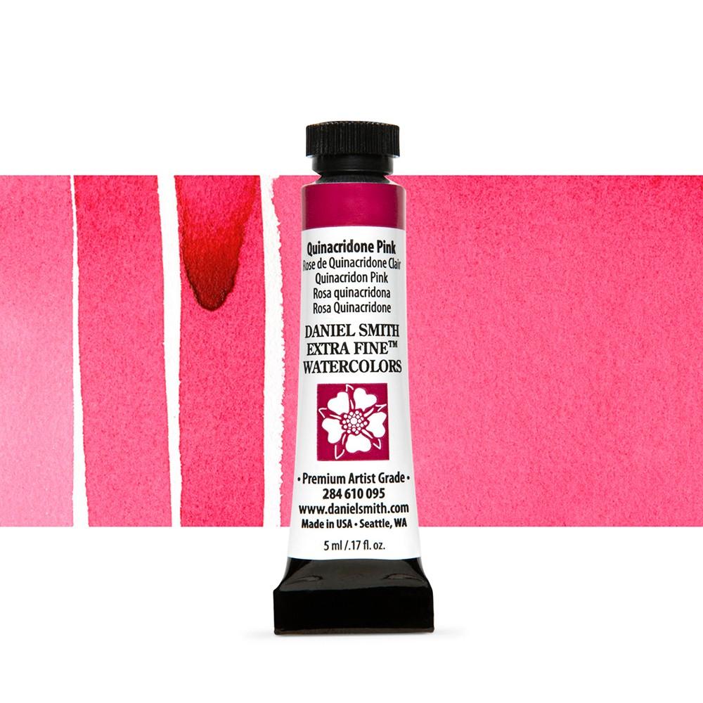 Daniel Smith : Watercolour Paint : 5ml : Quinacridone Pink