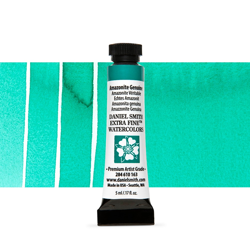Daniel Smith : Primatek Watercolour Paint : 5ml : Amazonite Genuine
