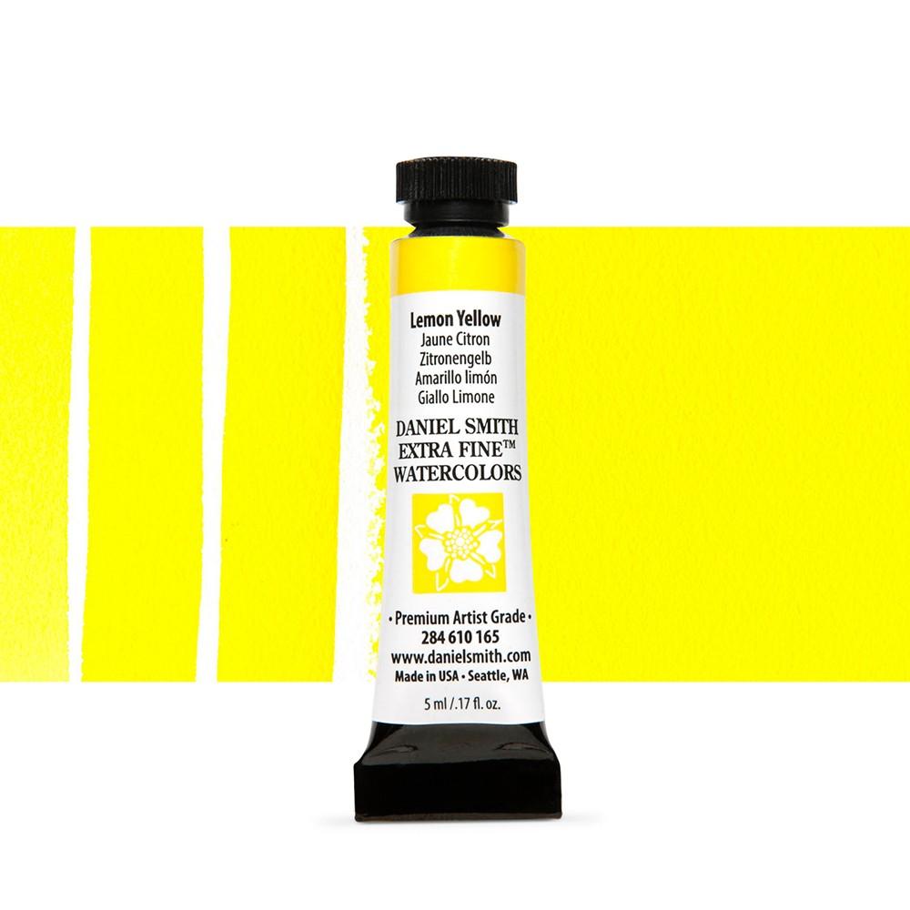 Daniel Smith : Watercolour Paint : 5ml : Lemon Yellow