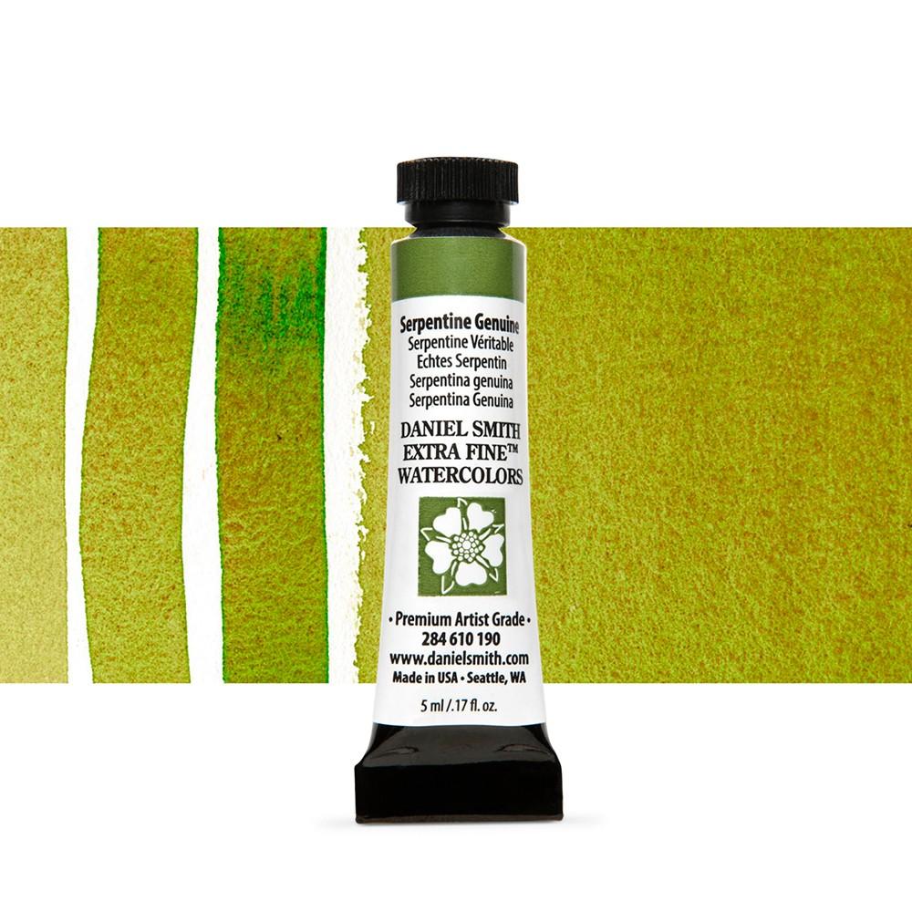 Daniel Smith : Watercolour Paint : 5ml : Serpentine Genuine