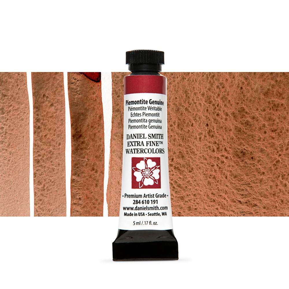 Daniel Smith : Watercolour Paint : 5ml : Piemontite Genuine