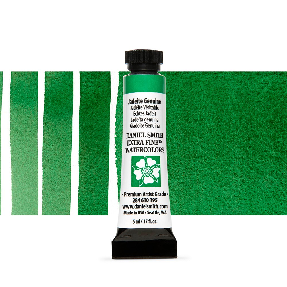 Daniel Smith : Watercolour Paint : 5ml : Jadeite Genuine