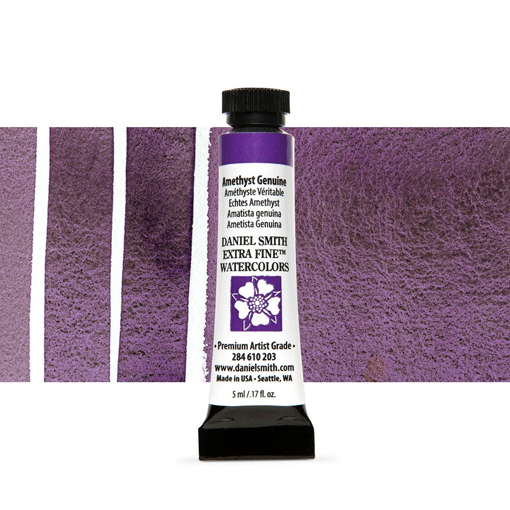Daniel Smith : Watercolour Paint : 5ml : Amethyst Genuine