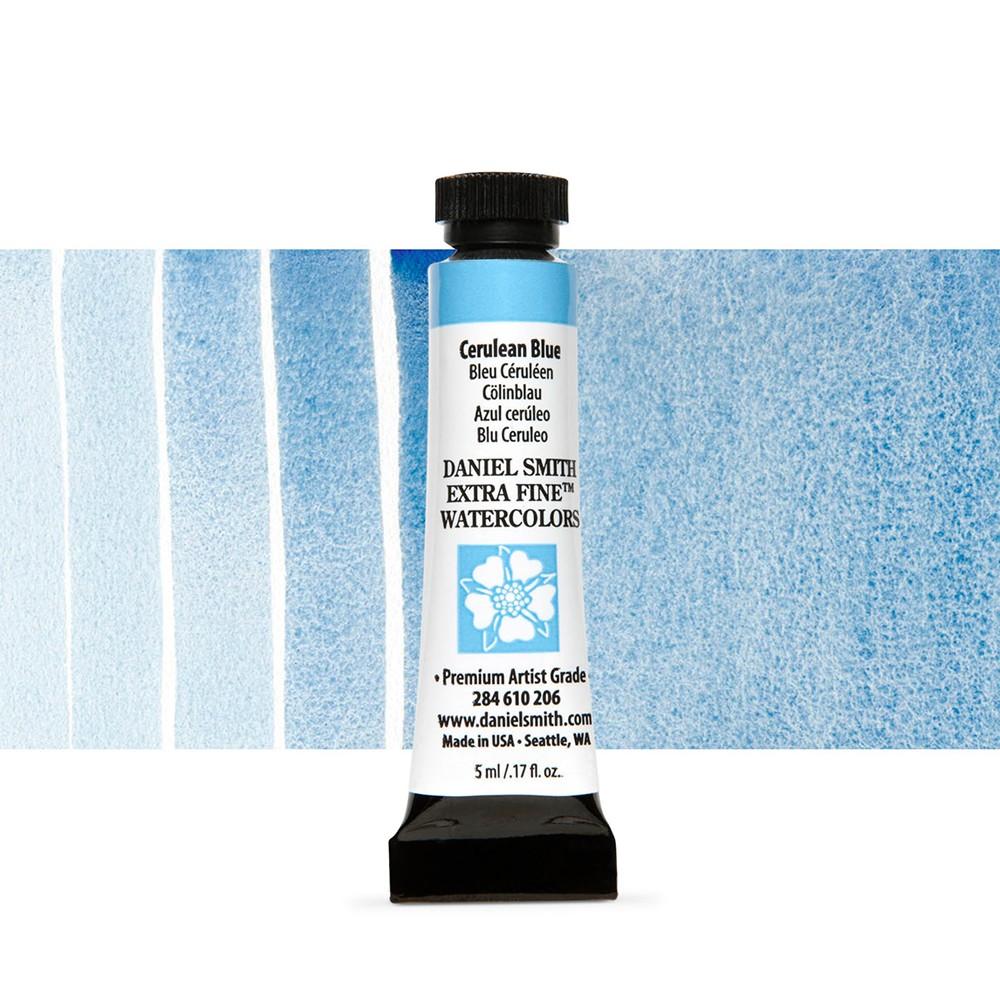 Daniel Smith : Watercolour Paint : 5ml : Cerulean Blue