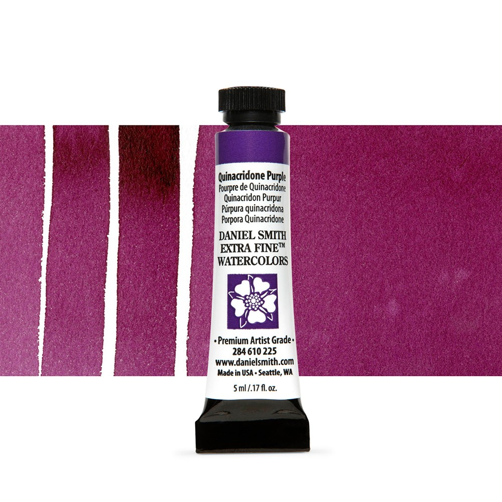 Daniel Smith : Watercolour Paint : 5ml : Quinacridone Purple