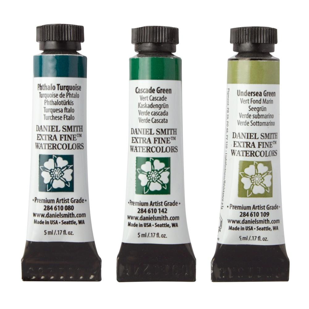 Daniel Smith : Watercolour Paint : Jean Haines Set : 5ml : Set of 3