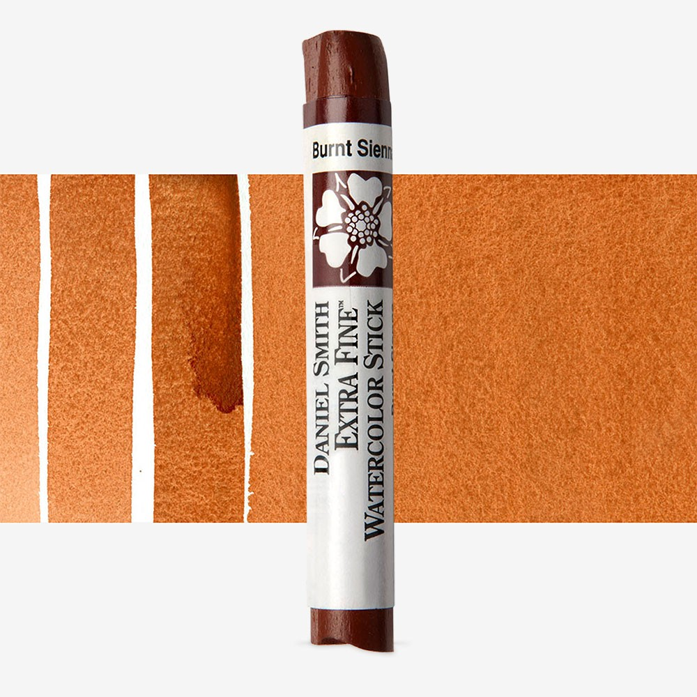 Daniel Smith : Watercolour Paint Sticks : Burnt Sienna