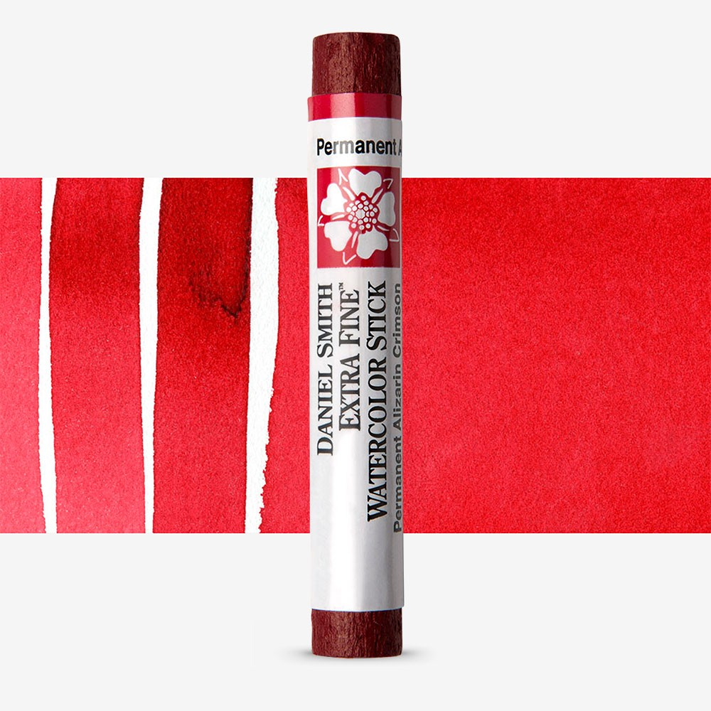 Daniel Smith : Watercolour Paint Sticks : Permanent Alizarin Crimson