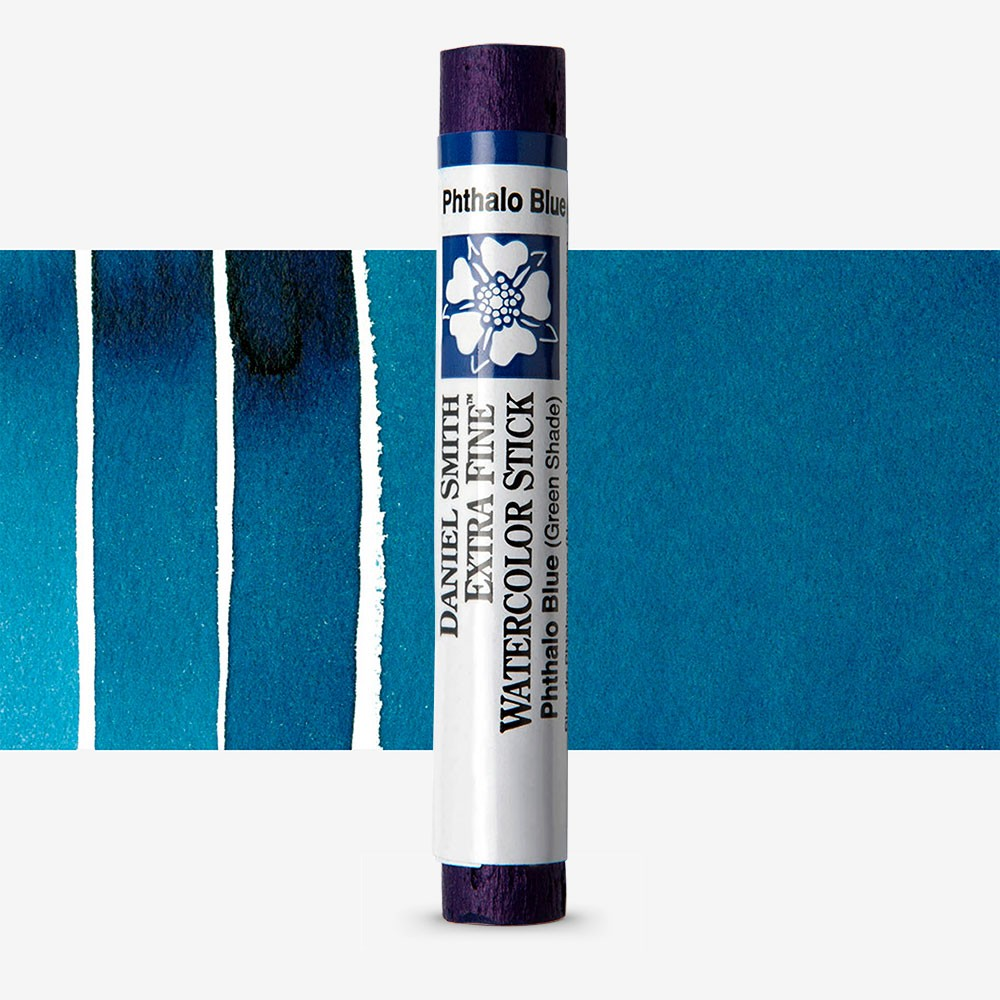 Daniel Smith : Watercolour Paint Sticks : Phthalo Blue GS