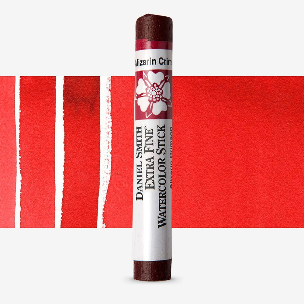 Daniel Smith : Watercolour Paint Stick : Alizarin Crimson