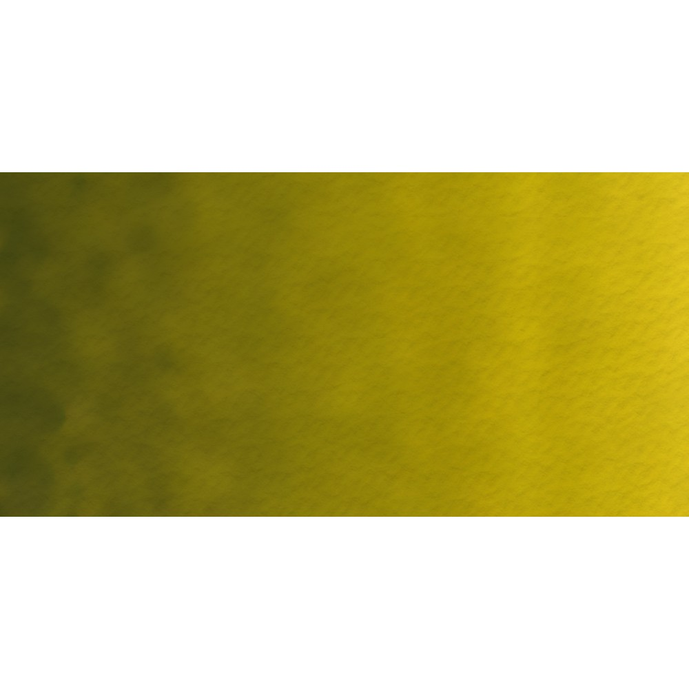 Old Holland : Watercolour Paint : Half Pan : Old Holland : Golden Green Deep