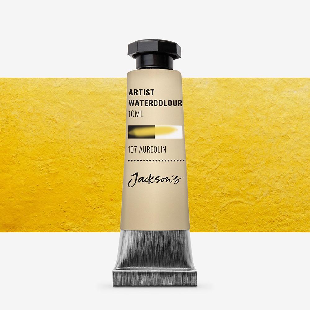 Jackson's : Artist Watercolour Paint : 10ml : Aureolin