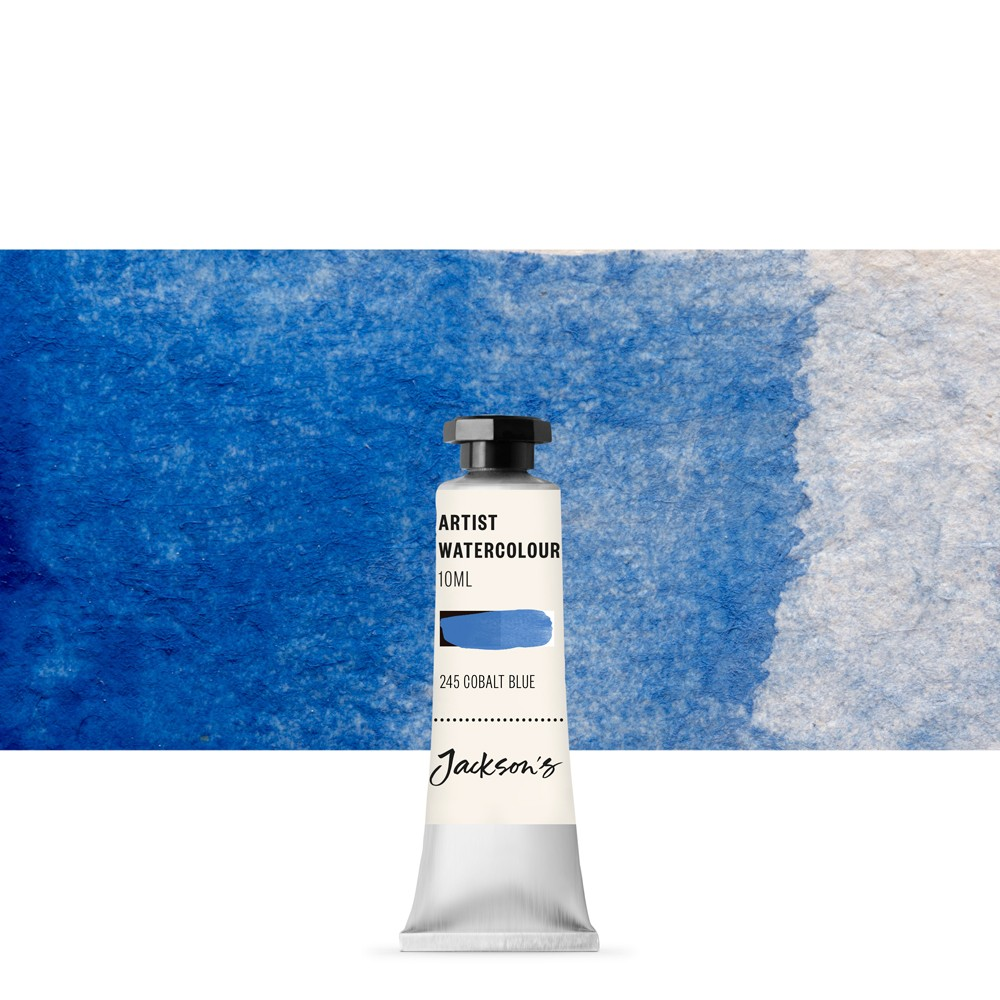 Jackson's : Artist Watercolour Paint : 10ml : Cobalt Blue