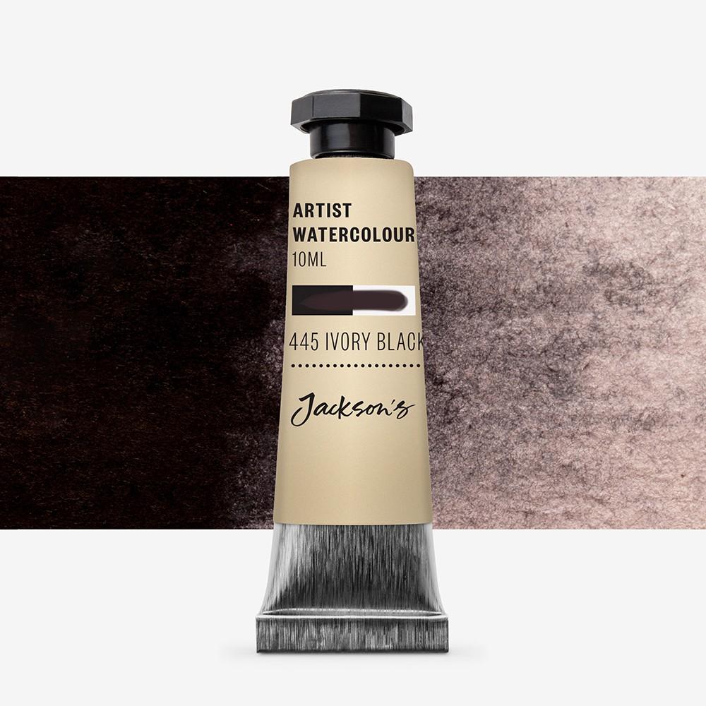 Jackson's : Artist Watercolour Paint : 10ml : Ivory Black