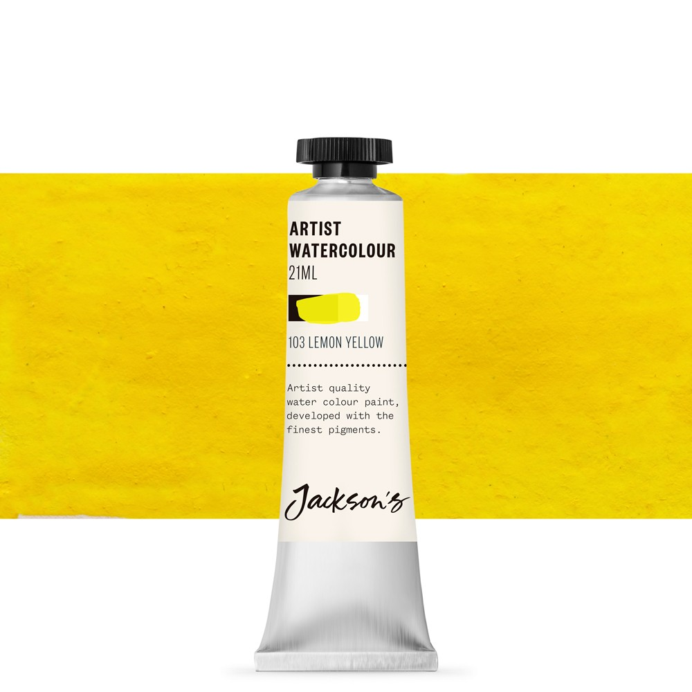 Jackson's : Artist Watercolour Paint : 21ml : Lemon Yellow