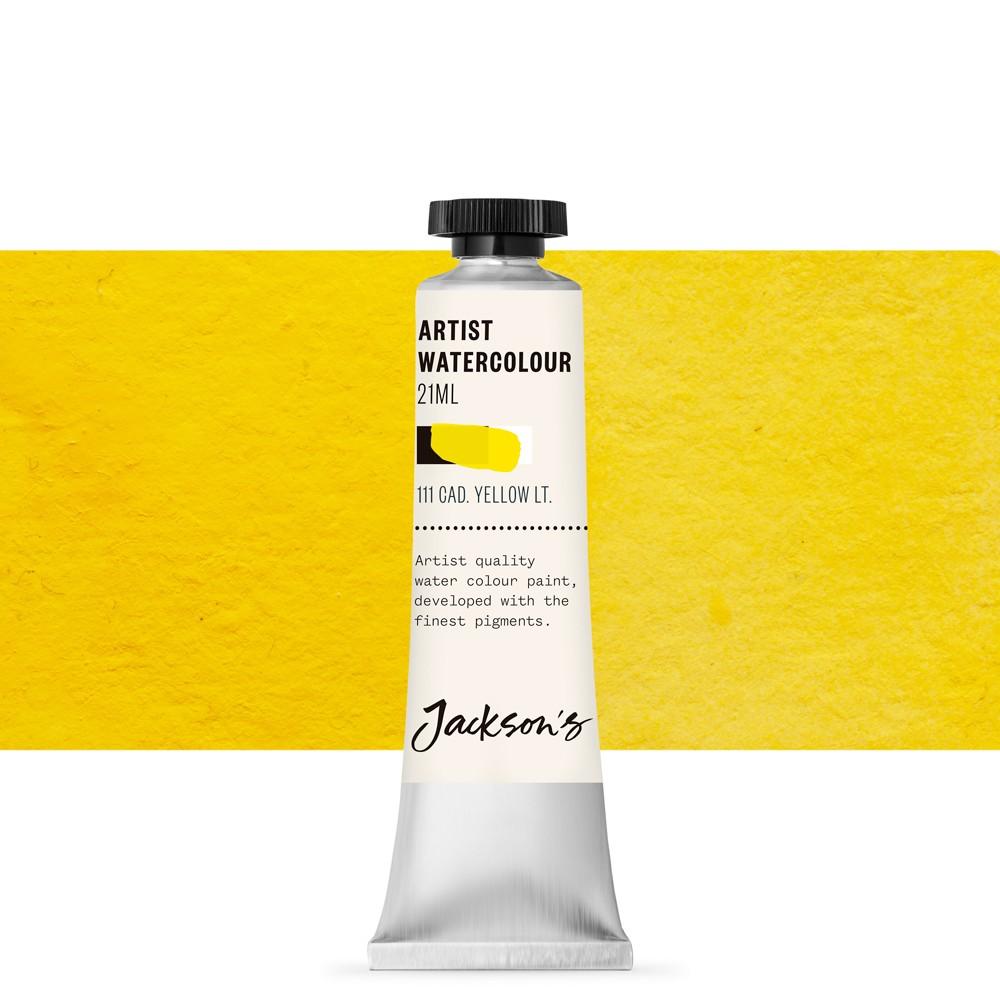 Jackson's : Artist Watercolour Paint : 21ml : Cadmium Yellow Light