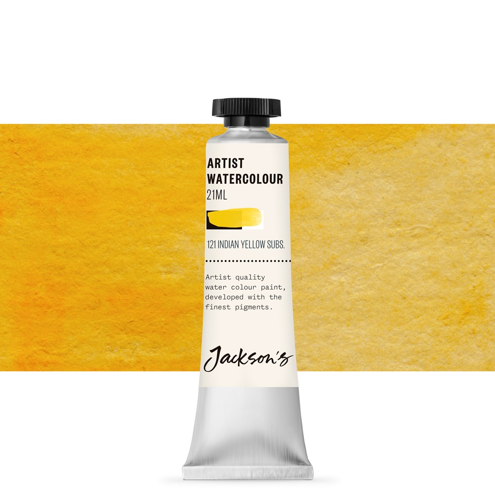 Jackson's : Artist Watercolour Paint : 21ml : Indian Yellow