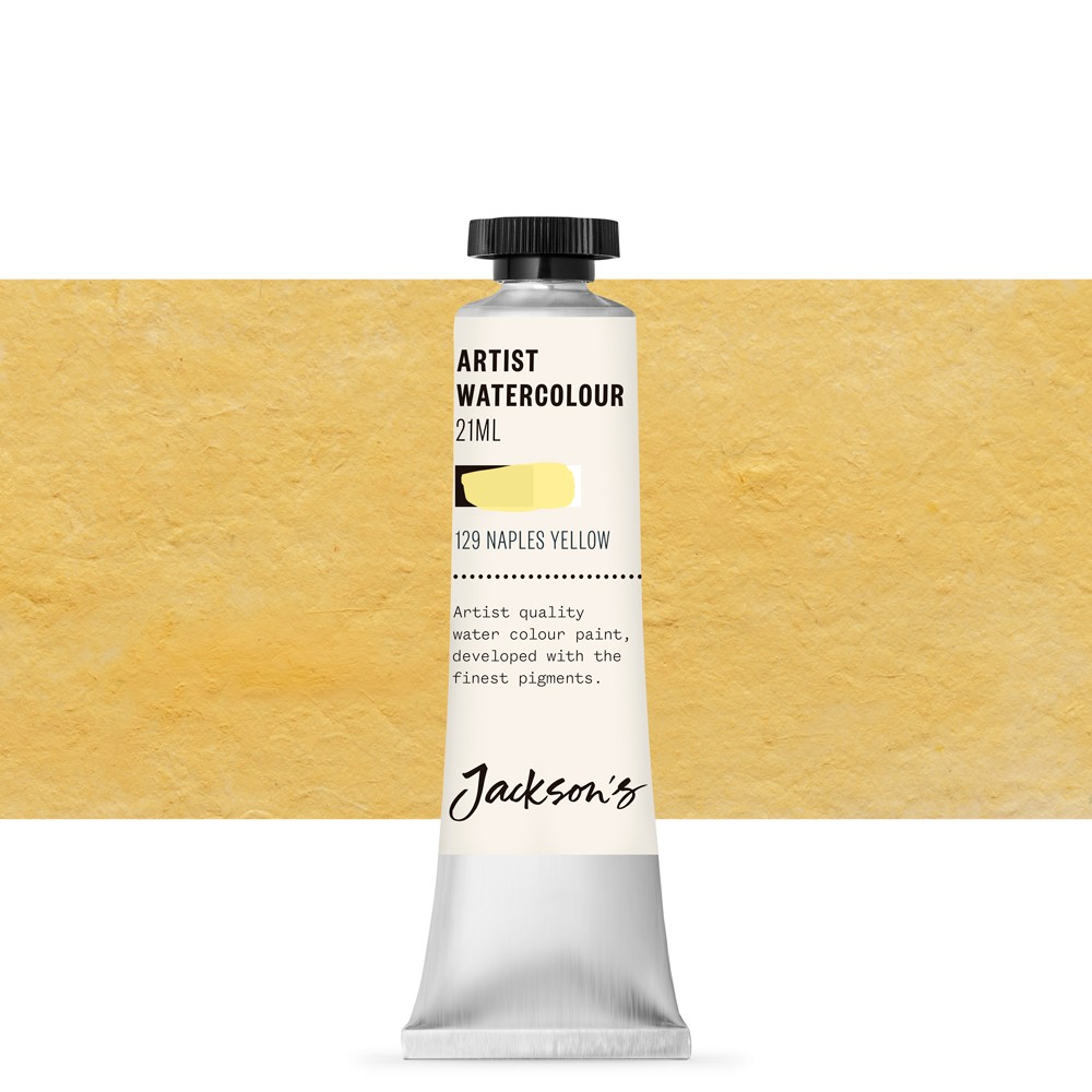 Jackson's : Artist Watercolour Paint : 21ml : Naples Yellow Hue