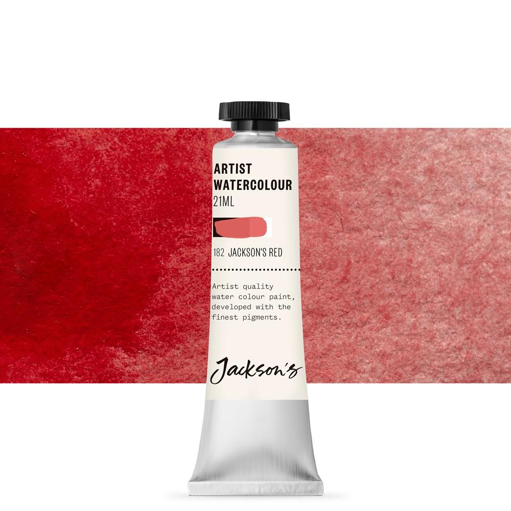 Jackson's : Artist Watercolour Paint : 21ml : Jackson's Red (Pyrrole)