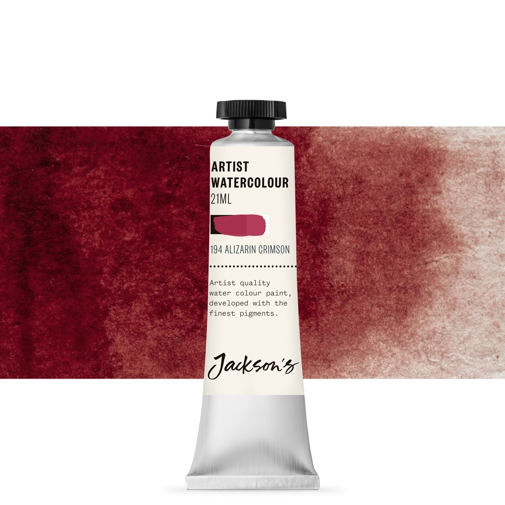 Jackson's : Artist Watercolour Paint : 21ml : Alizarin Crimson
