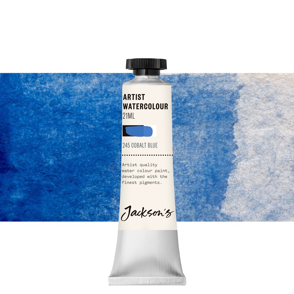 Jackson's : Artist Watercolour Paint : 21ml : Cobalt Blue