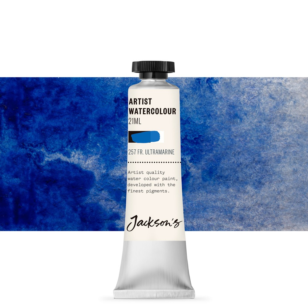 Jackson's : Artist Watercolour Paint : 21ml : Ultramarine Deep