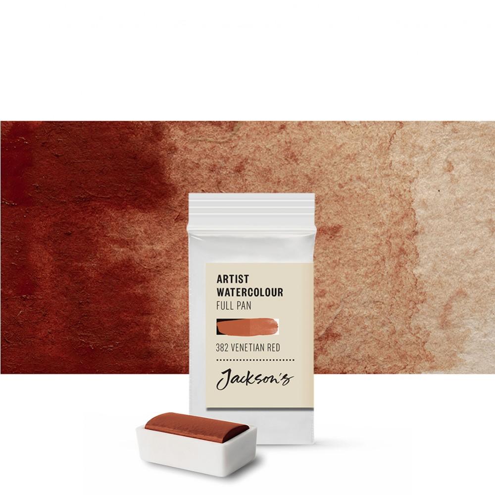 Jackson's : Artist Watercolour Paint : Full Pan : Venetian Red