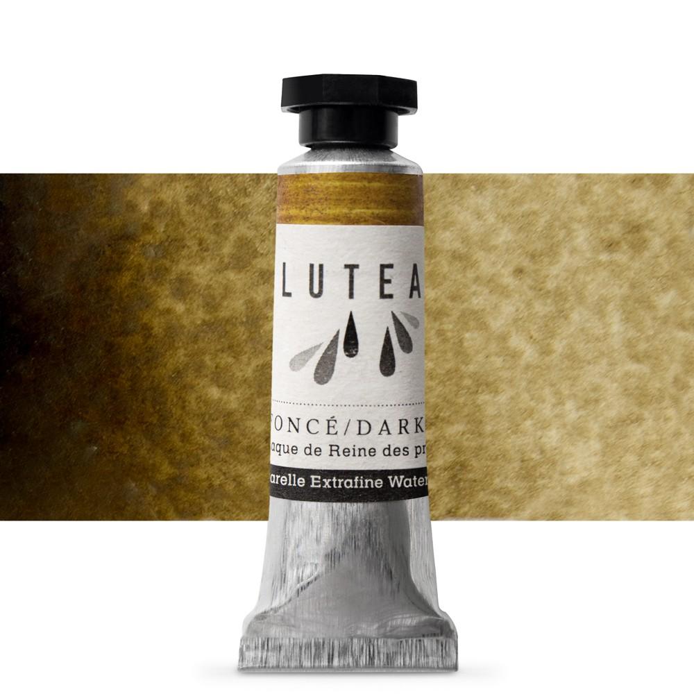 Lutea : Extra Fine Natural Watercolour Paint : 9ml : Dark Green (Meadowsweet)
