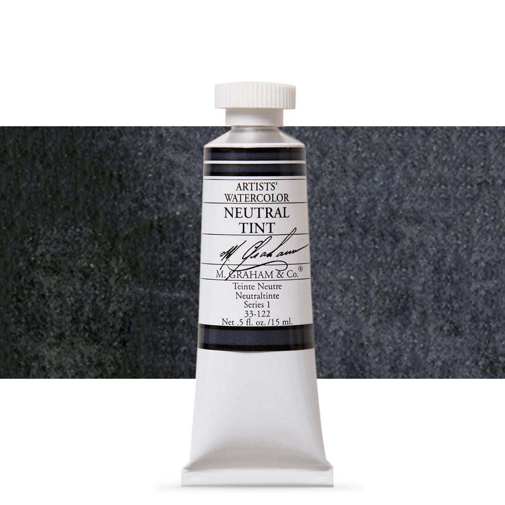 M. Graham : Artists' Watercolour Paint : 15ml : Neutral Tint