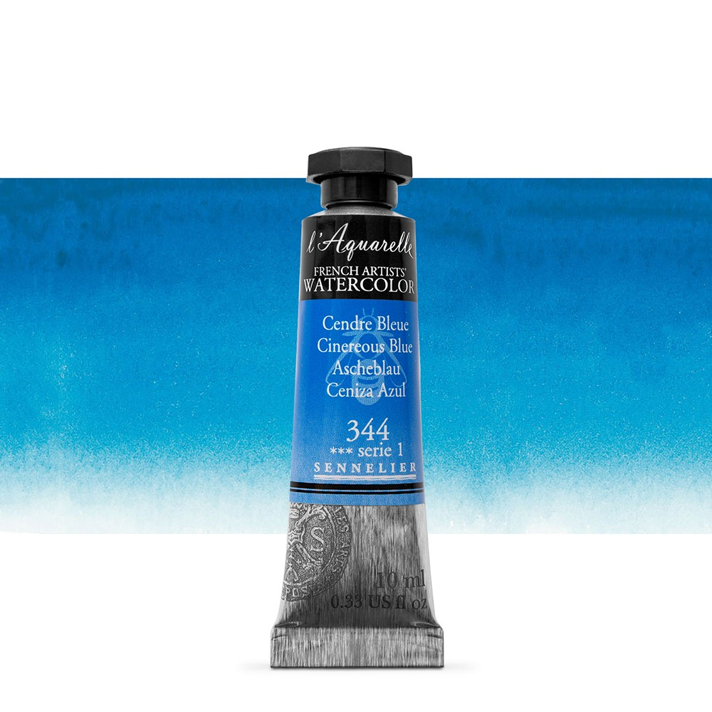 Sennelier : Watercolour Paint : 10ml : Cinereous Blue