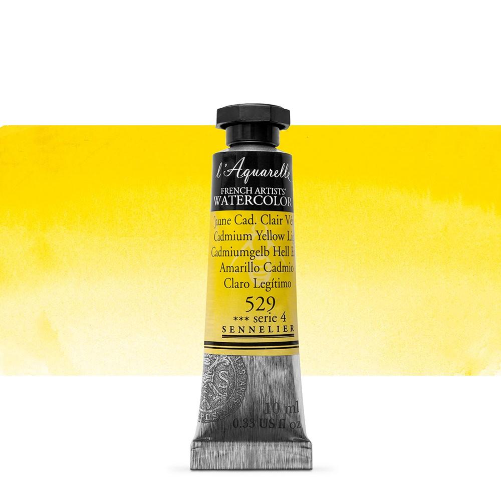 Sennelier : Watercolour Paint : 10ml : Cadmium Yellow Light