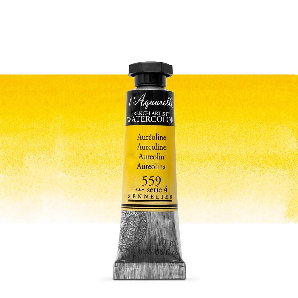 Sennelier : Watercolour Paint : 10ml : Aureoline
