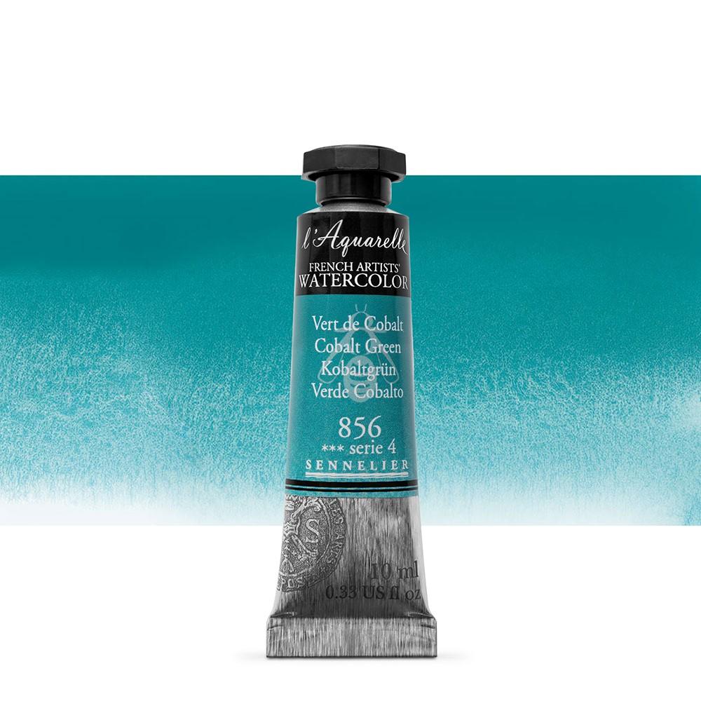 Sennelier : Watercolour Paint : 10ml : Cobalt Green