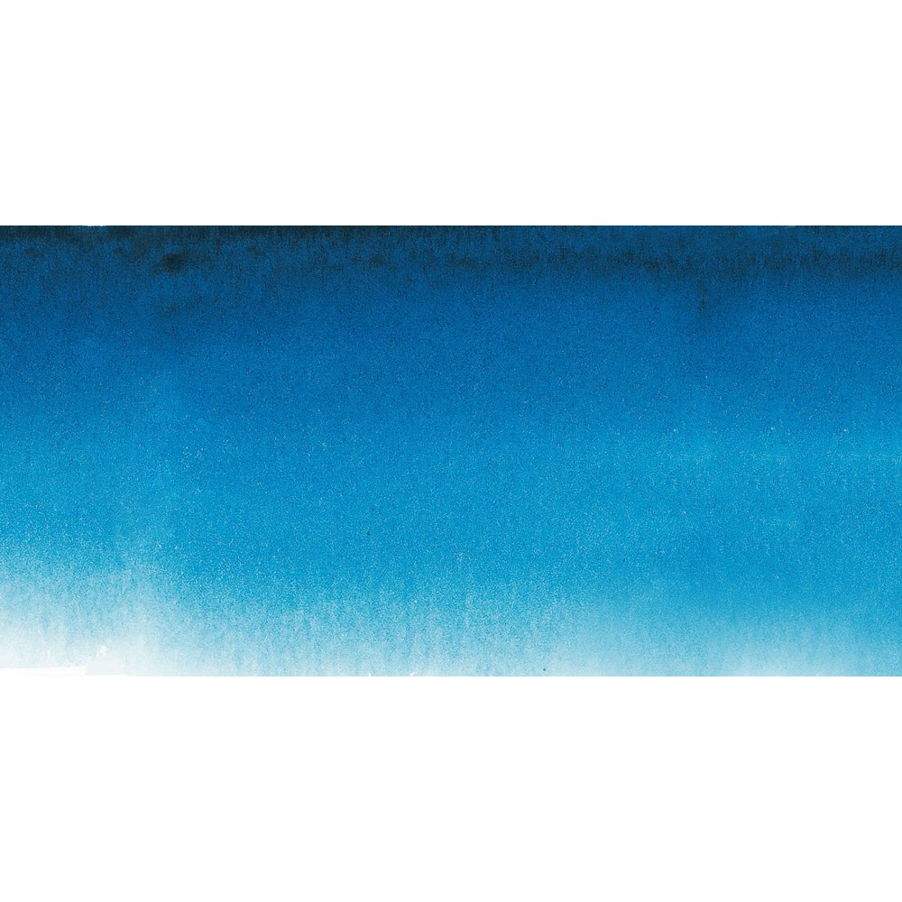 Sennelier : Watercolour Paint : Half Pan : Phtalocyanine Blue
