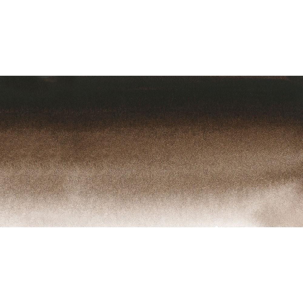 Sennelier : Watercolour Paint : Half Pan : Warm Sepia