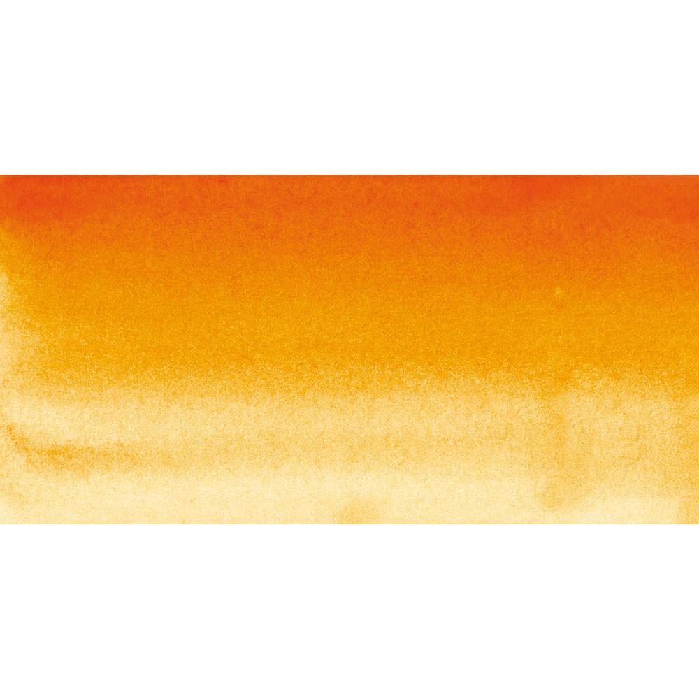 Sennelier : Watercolour Paint : Half Pan : Red Orange